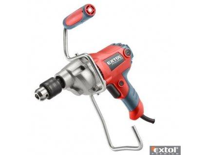 EXTOL® PREMIUM Elektrické míchadlo stavebních směsí, se sklíčidlem, 850 W