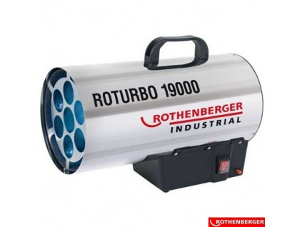 ROTHENBERGER® ROTURBO 19000 Plynové topidlo, 18,2 kW, IP44