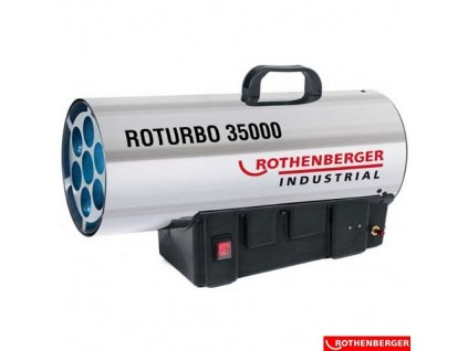 ROTHENBERGER® ROTURBO 35000 Plynové topidlo, 34 kW, IP44