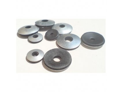 Podložky s těsnící gumou EPDM, M4 3.4/5x16 mm, ZB, balení 1500 ks