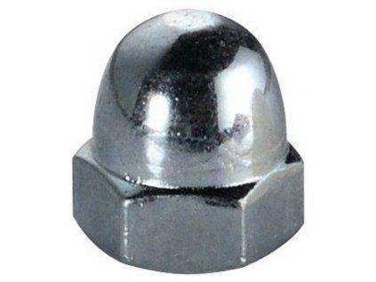 Šestihranná matice uzavřená vysoká, M 6, ZB, DIN 1587, balení 1000 ks