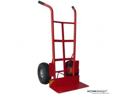 CONE DESIGN® Rudl kovový, nosnost 500 kg, kola 300 mm s kovovým diskem