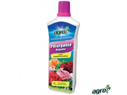 AGRO® Hnojivo kapalné na pelargonie a jiné balkonové květiny, 500 ml