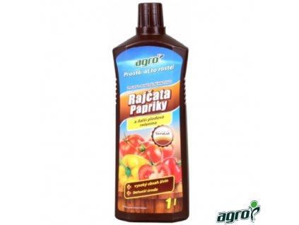 AGRO® Hnojivo kapalné organo-minerální na rajčata, papriky, okurky, 1 l