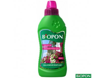 BIOPON® Hnojivo minerální kapalné na balkónové rostliny, 500 ml