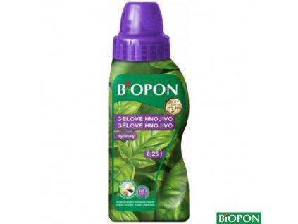 BIOPON® Hnojivo minerální gelové na bylinky, 250 ml
