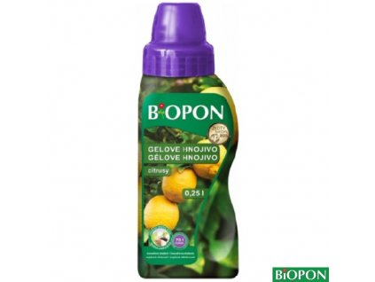 BIOPON® Hnojivo minerální gelové na citrusy, 250 ml