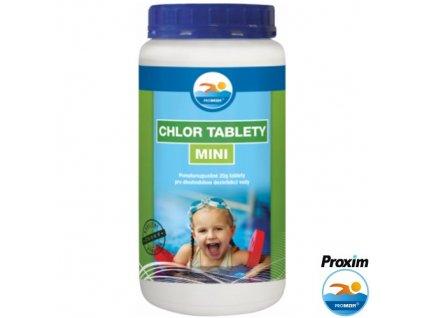 PROBAZEN® CHLOR TABLETY MINI dezinfekce do bazénu, 1 kg