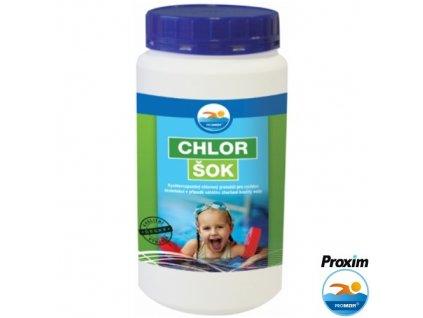 PROBAZEN® CHLOR ŠOK dezinfekce do bazénu, 1,2 kg