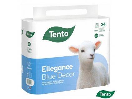 Toaletní papír Tento ellegance blue decor