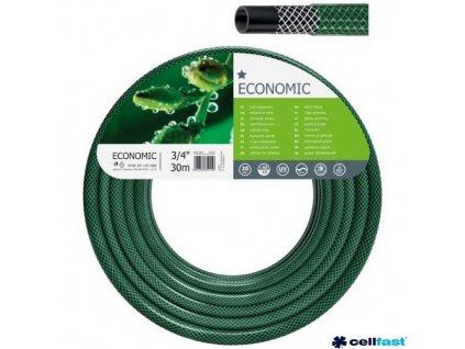 """CELLFAST® Hadice zahradní ECONOMIC, 3/4"""", 30 m, zelená"""
