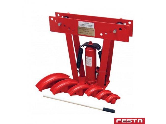 FESTA® 26895 Hydraulická ohýbačka trubek, 12 t, přenosná