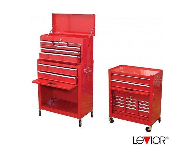 LEVIOR® Montážní vozík na nářadí, vysoký, AUTOMOTIVE