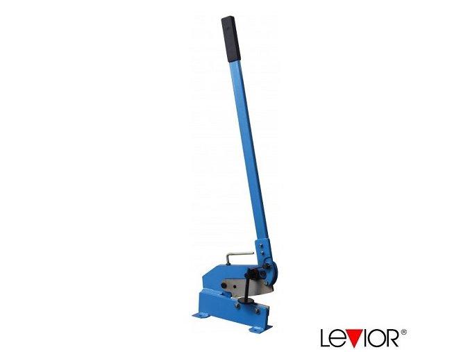 LEVIOR® Pákové nůžky 150 x 860 mm na plech a ocelové profily