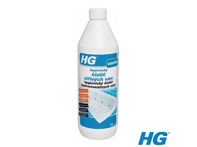 HG hygienický čistič vířivých van