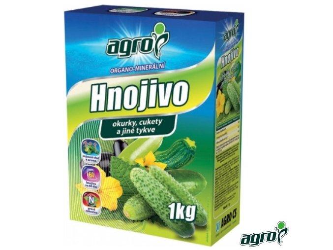 AGRO® Hnojivo organo-minerální na okurky, cukety a jiné tykve, 1 kg