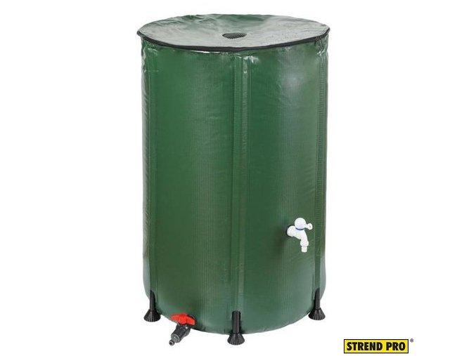 STREND PRO®Barel na vodu PVC skládací CRB75, 750 l, sada s víkem a příslušenstvím