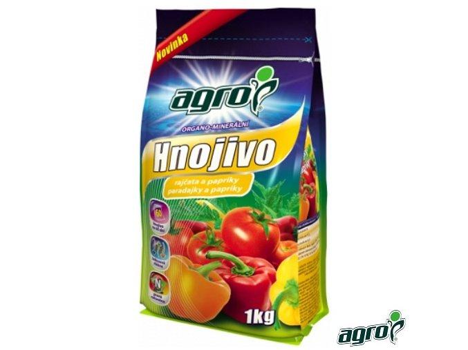 AGRO® Hnojivo organo-minerální na rajčata a papriky, 1 kg