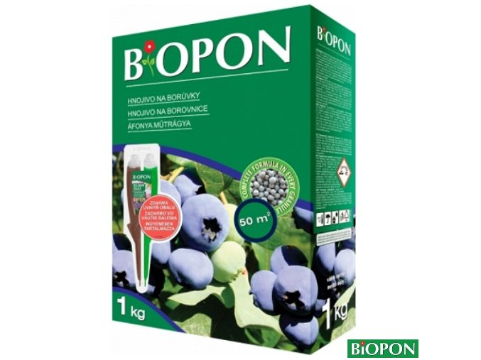 BIOPON® Hnojivo na borůvky, 1 kg + elixír zdarma