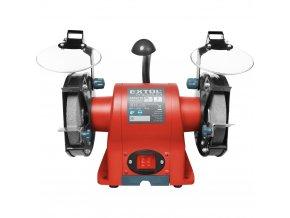 EXTOL® PREMIUM 8892110 BG 35L Stolní bruska dvoukotoučová, 350 W, 150 mm