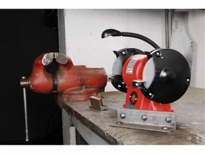 EXTOL® PREMIUM Stolní bruska BG 35L dvoukotoučová, 350 W, 150 mm