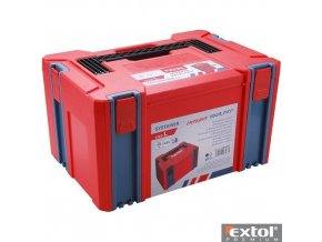 EXTOL® PREMIUM SYSTAINER L ABS box, 443 x 310 x 248 mm