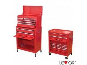 LEVIOR® 26985 Montážní vozík na nářadí, vysoký, AUTOMOTIVE