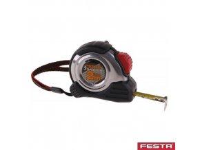 FESTA® Metr svinovací nerez, guma, délka 2 m, pásek 16 mm
