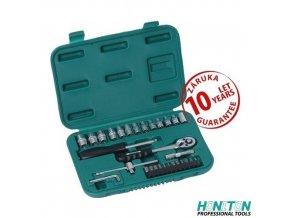 """HONITON® 17217, Gola sada 1/4"""", 32 dílů, plastový kufr"""