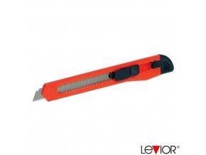 LEVIOR® Odlamovací nůž P101, 9 mm, plastový, hřebenová aretace