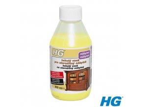 HG tekutý vosk na starož. nábytek světlý
