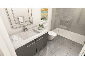 HG sprej na sprchy vany a umyvadla