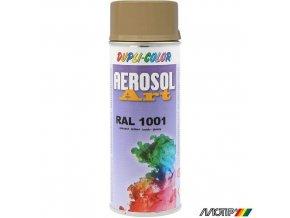 Motip ART lak barva spray 400ml RAL 1001