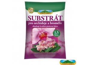 NOHEL GARDEN® Substrát s piniovou kůrou pro orchideje a bromélie 1,5 l