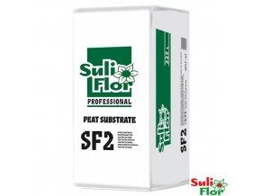 SULIFLOR® PROFESSIONAL SF2 Rašelinový substrát pro dopěstování, 225 l