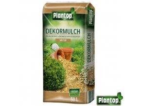 PLANTOP® Dekorativní mulčovací kůra, přírodní, 50 l
