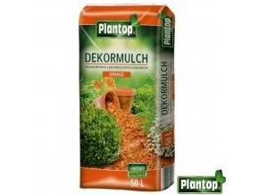 PLANTOP® Dekorativní mulčovací kůra, oranžová, 50 l