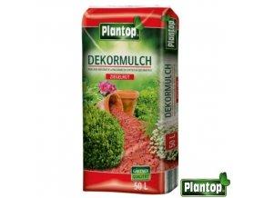 PLANTOP® Dekorativní mulčovací kůra, cihlově červená, 50 l