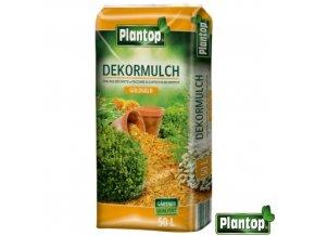 PLANTOP® Dekorativní mulčovací kůra, zlatě žlutá, 50 l