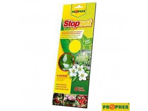 PROPHER® STOPSET Lepové desky žluté na mšice a molice, 5 ks