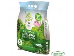 VITA NATURA® Substrát přírodní pro bylinky, 5 l