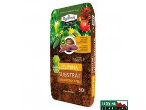 RAŠELINA SOBĚSLAV VERMIHUMIN PREMIUM Substrát s vermikompostem pro zeleninu, 50 l
