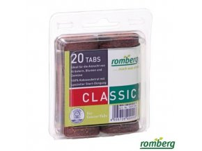 ROMBERG® CLASSIC Kokosová tableta, pr. 36 mm, 20 ks
