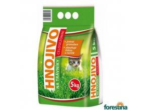 FORESTINA® STANDARD Hnojivo na trávník, 5 kg
