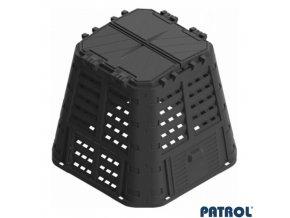 PATROL® MULTI Kompostér plastový černý, 420 l