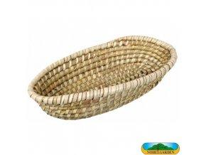 NOHEL GARDEN® 24010 Ošatka na chléb z mořské trávy, 34 x 18 x 7 cm