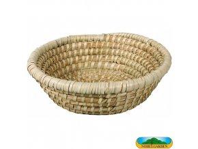NOHEL GARDEN® 24012 Ošatka kulatá z mořské trávy, pr. 25 x 6 cm