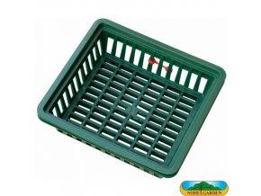 NOHEL GARDEN® 48714 Košík na cibuloviny plastový, 29 x 26 x 7,5 cm, 3 ks