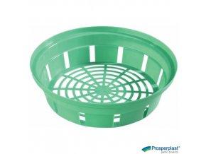 PROSPERPLAST® ONION 3 Košík na cibuloviny kulatý plastový, pr. 26 x 7 cm