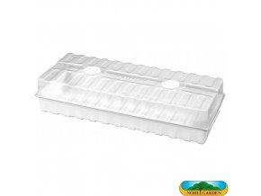 NOHEL GARDEN® 48835 Minipařeniště s ventilací, 47 x 20 x 10 cm